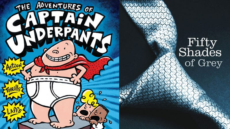 Illustration for article titled Captain Underpants Gets More Calls for Censorship Than Fifty Shades