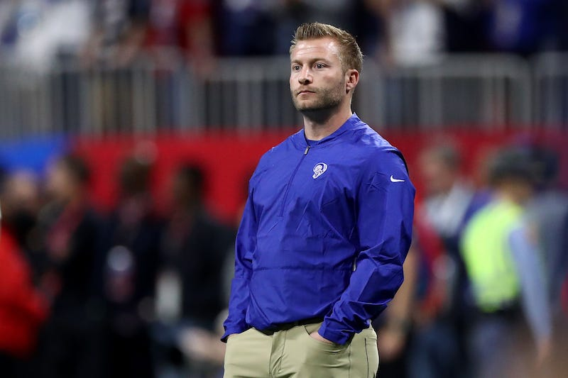 Illustration for article titled Sean McVay Says He Ate Too Much Tape Before The Super Bowl