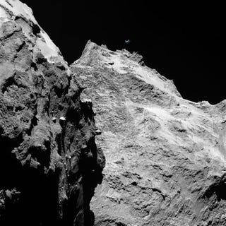 Illustration for article titled Ez itt egy üstökös, az meg egy repülő