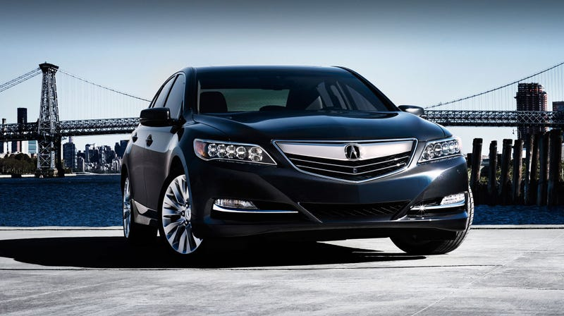 Illustration for article titled Great News Everyone! The 2017 Acura RLX Now Starts at Just $54,450