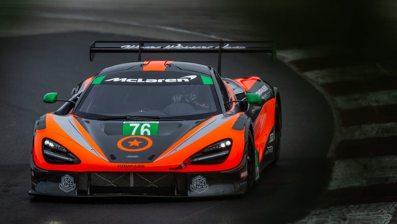 Illustration for article titled McLaren's 720S GT3 Is Ready To Face The Stiff IMSA Competition
