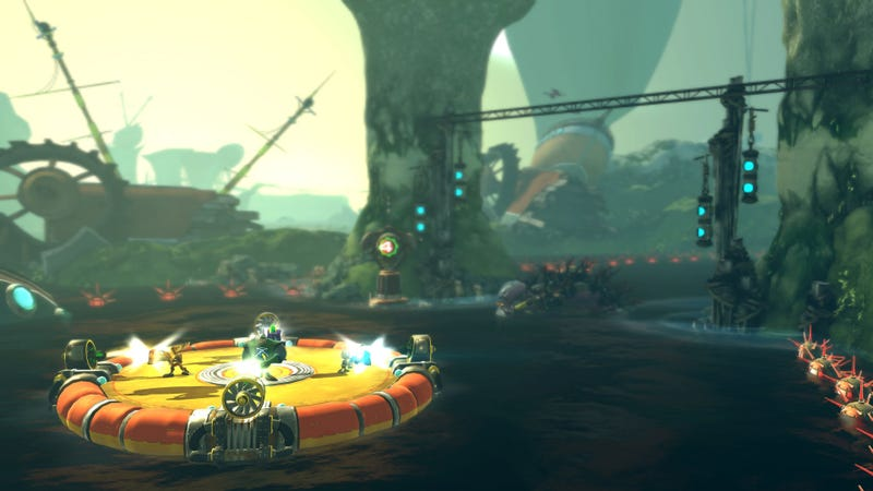 Illustration for article titled Ratchet & Clank: All 4 One Screen Shots