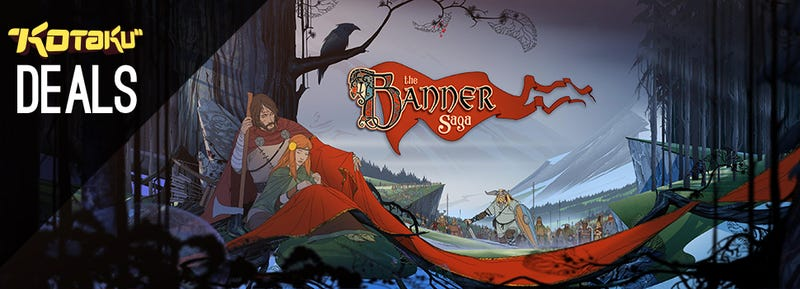Illustration for article titled The Banner Saga, Astro A50, PSN 14 for '14 Sale, G400s [Deals]
