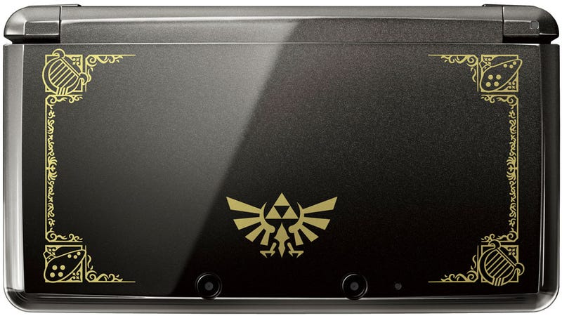 Illustration for article titled There's a Zelda 3DS Handheld, and It Is Stunning