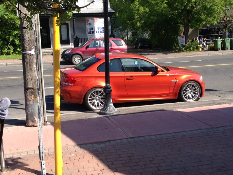 Illustration for article titled I saw an BMW 1M today, I looked for a used one online...