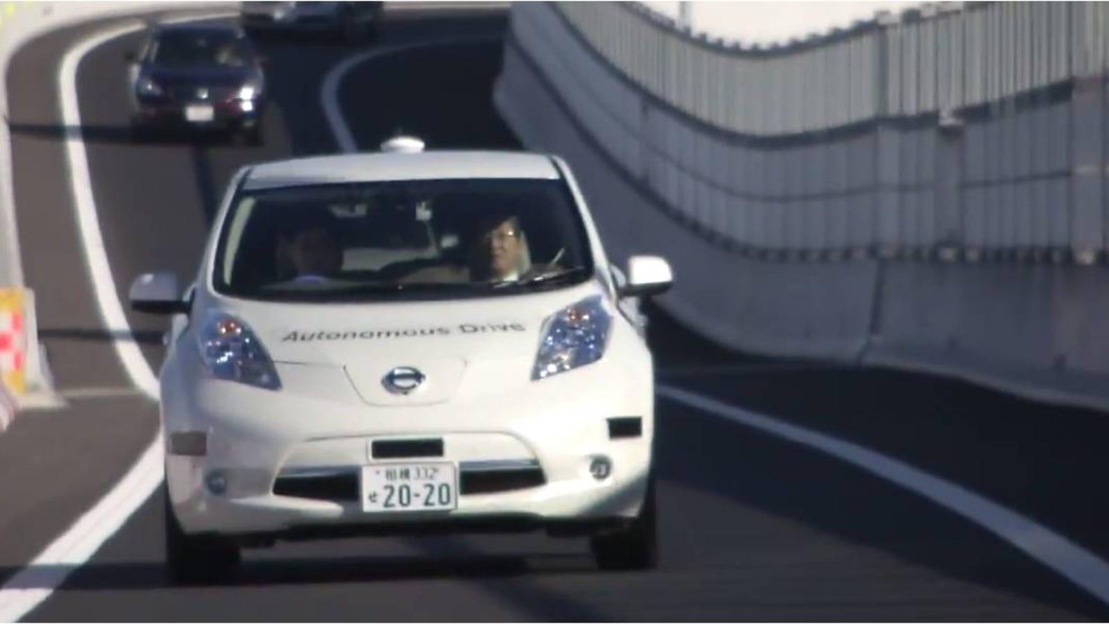 El coche autónomo de Nissan ya se prueba en las autopistas de Japón