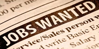 Unemployment-aid applications are down. (Thinkstock)