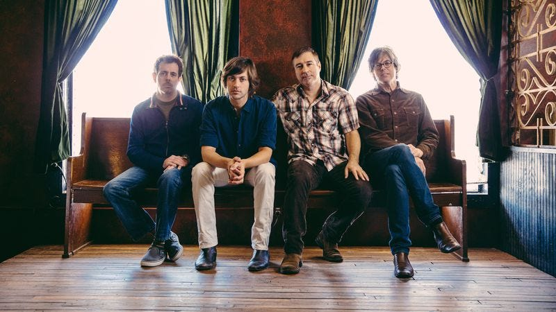 Illustration for article titled After 20 years together, the Old 97's still deliver the same love and nausea