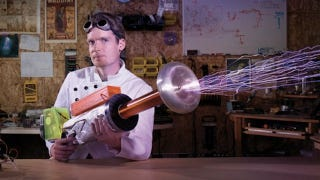 Illustration for article titled A Tesla Coil Nerf Gun Might Be The Coolest Nerf Gun Ever