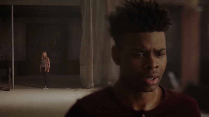 From left to right: Olivia Holt as Tandy Bowen and Aubrey Joseph as Tyrone Johnson in Marvel's Cloak & Dagger.
