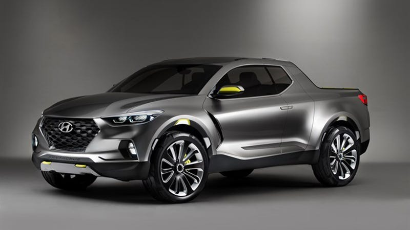 Hyundai will have a pickup in North America