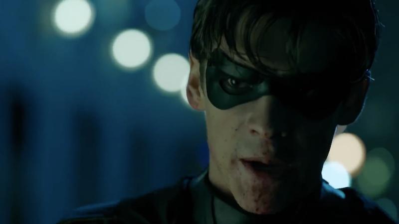 Brenton Thwaites as Titans' Robin.