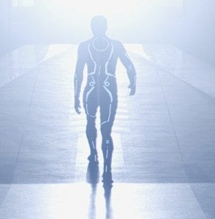 Illustration for article titled New Tron Legacy Picture Looks Like The Cyber-Rapture