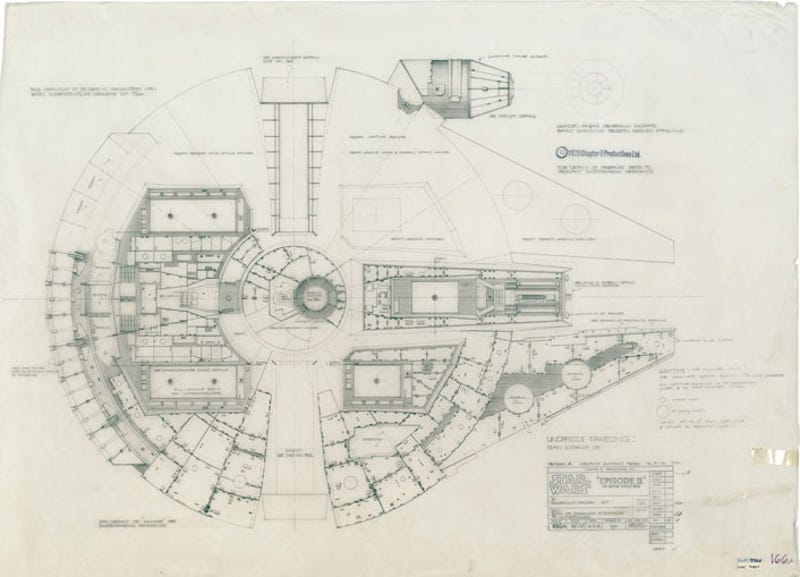Get The Plans For The Death Star At Last - Death star blueprints
