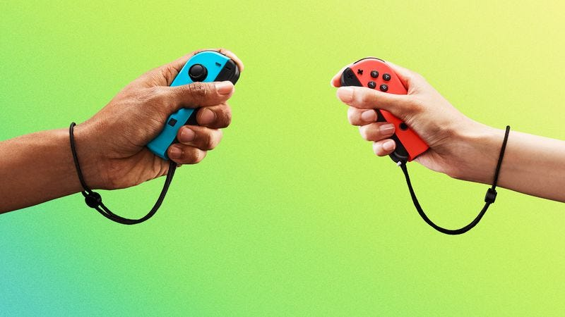 The Nintendo Switch's Joy-Con controllers (Photo: Nintendo)
