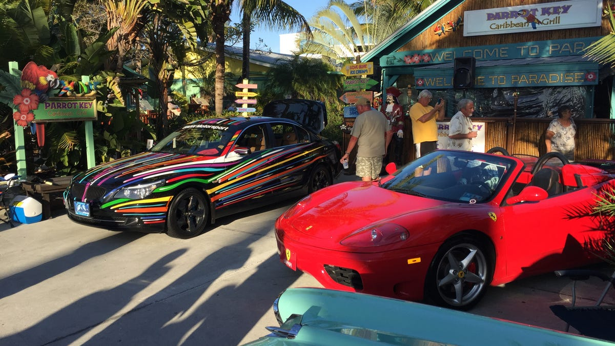 First Car Show Of The Year - Parrot key car show