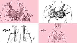 Illustration for article titled Behold Super Olde-Tymey Brassiere Devices