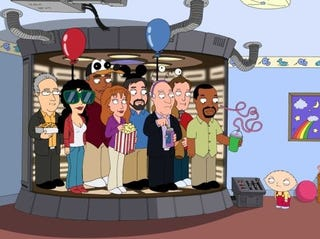 Illustration for article titled First Look At Family Guy's Star Trek Hostages