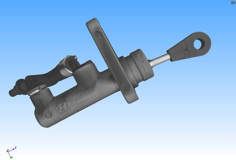 Illustration for article titled I X-Ray CT Scanned My Old Clutch Master Cylinder