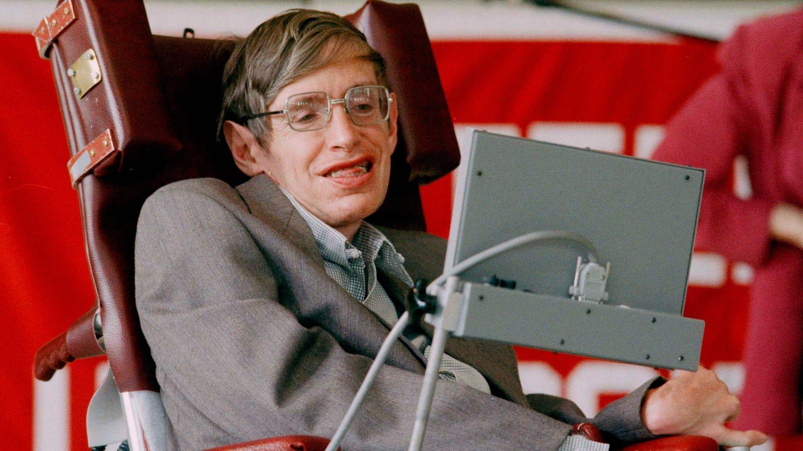 El célebre físico Stephen Hawking ha muerto a los 76 años