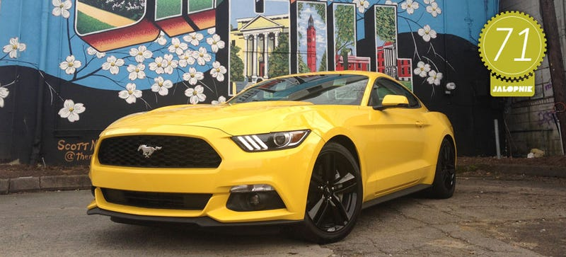 2015 mustang ecoboost manual review