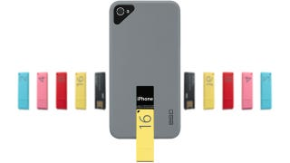 Illustration for article titled An iPhone Case That Poops Flash Drives