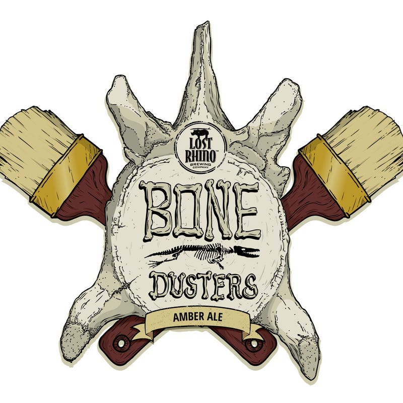 Illustration for article titled Bone Dusters Paleo Ale: the first-ever fossil-based beer