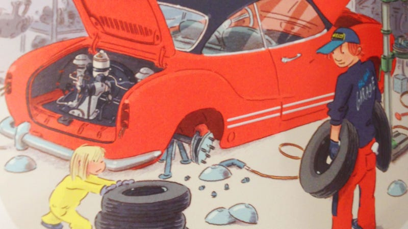 Illustration for article titled Sweden Has The Best Goddamn Kids Gearhead Books I've Ever Seen