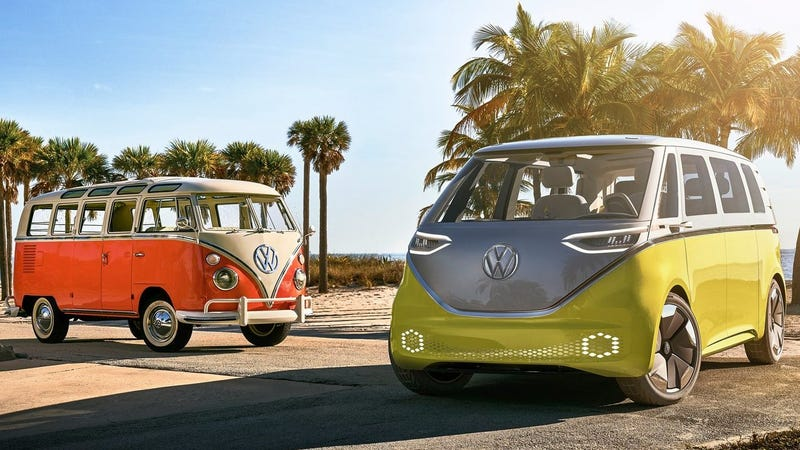 VW re-imagines the '60s Microbus with this new, all-electric van class=
