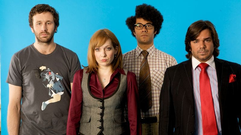 Illustration for article titled The TV Club Classic summer slate locks its final puzzle piece into place with The IT Crowd