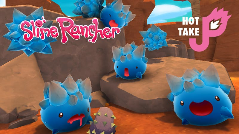 Illustration for article titled Hot Take: Slime Rancher (PC)