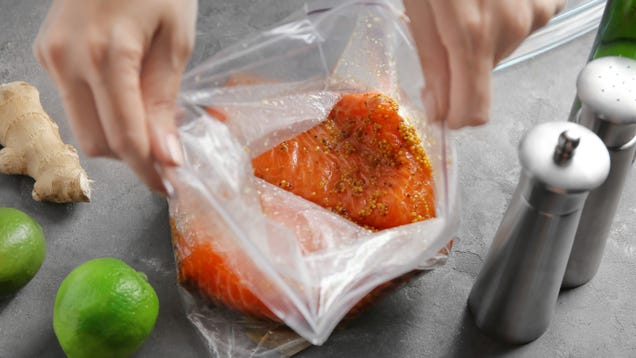 Zip Together Two Freezer Bags to Make One Large One