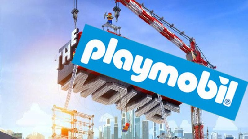 Illustration for article titled Now Playmobil toys are getting their own movie
