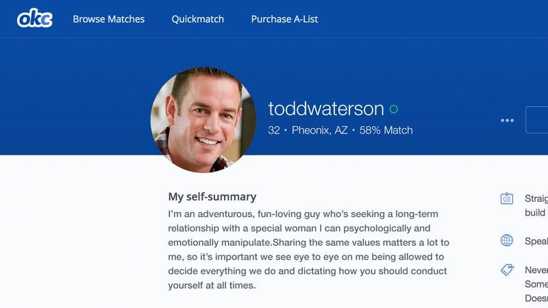 Dating Profile What I Looking For In A Man