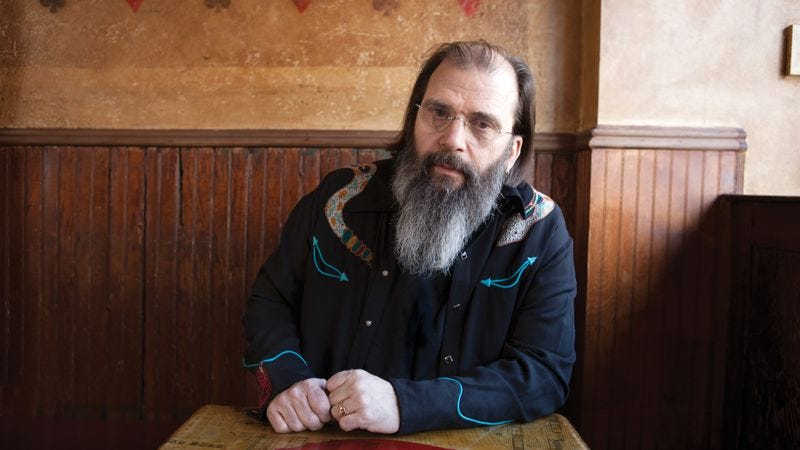 Illustration for article titled Where to start with the raspy roots of alt-country godfather Steve Earle