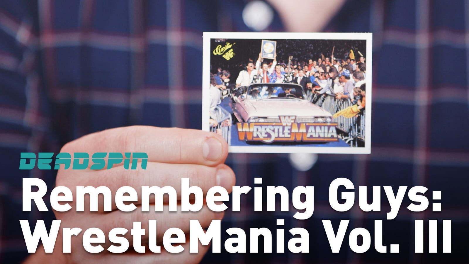 WrestleMania Legends Cards: Let's Remember Some Guys