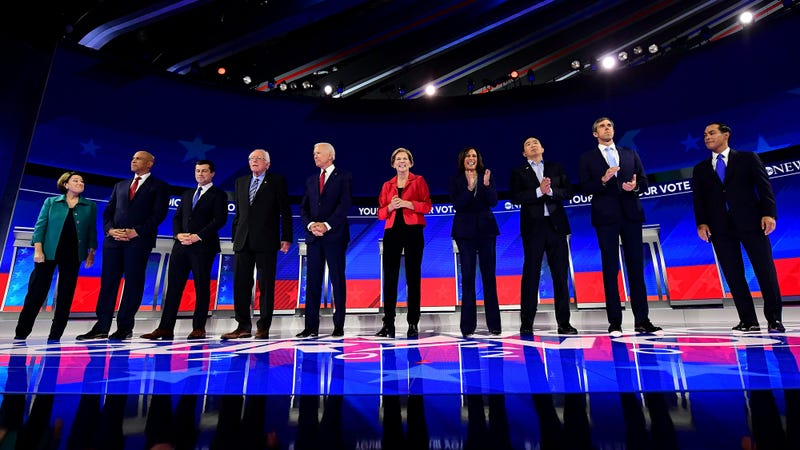 Illustration for article titled Highlights Of The Third Democratic Debate