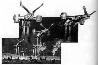 Illustration for article titled Terminator 2 Storyboards Show The Destruction Of Skynet