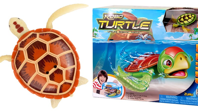 When this Walking, Swimming Pet Turtle Dies, Just Swap In a New ...