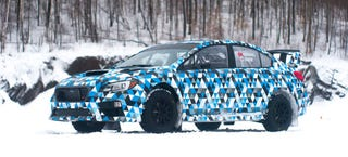 Illustration for article titled This Is The 2015 Subaru WRX STI Rally Car