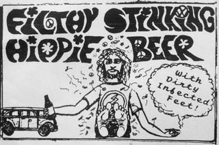 Illustration for article titled VW Transporter Stereotypes Ahoy: Filthy Stinking Hippie Beer!