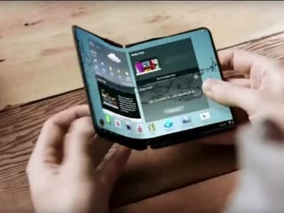 Illustration for article titled The Foldable Phones Samsung Promised Might Be Available Early Next Year