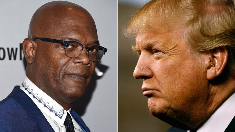 Illustration for article titled Donald Trump and Samuel L. Jackson Are Dudefighting Over a Game of Golf