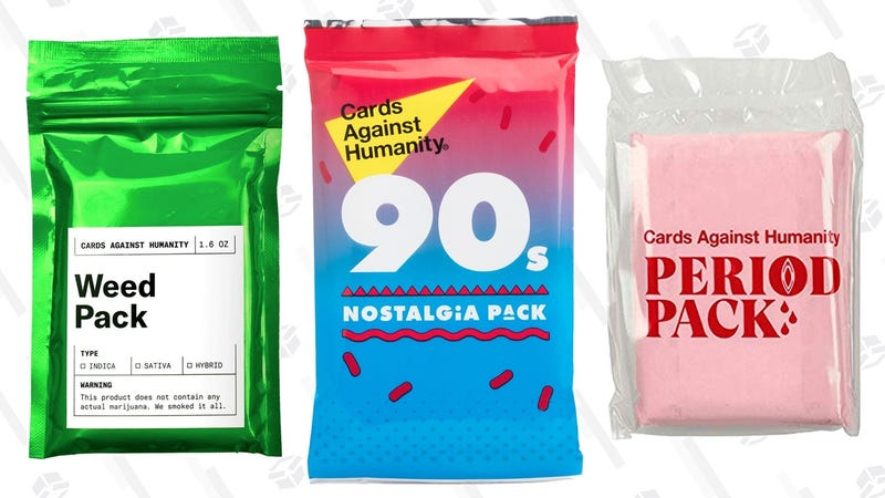 50% off Cards Against Humanity Packs | Amazon | Prime members only, discount shown at checkout