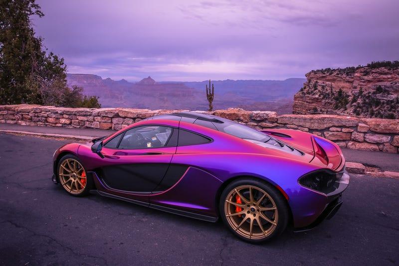 mclaren p1 purple orange. mclaren p1 purple orange o