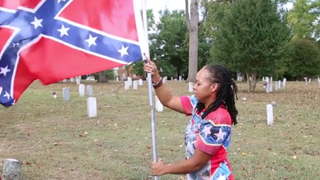 Karen CooperScreenshot from Battle Flag