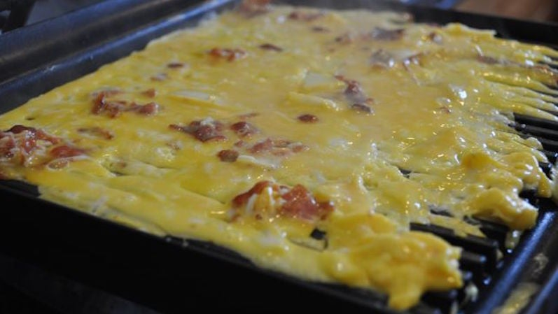 Make Quick, Easy Filled Omelettes in a Panini Press