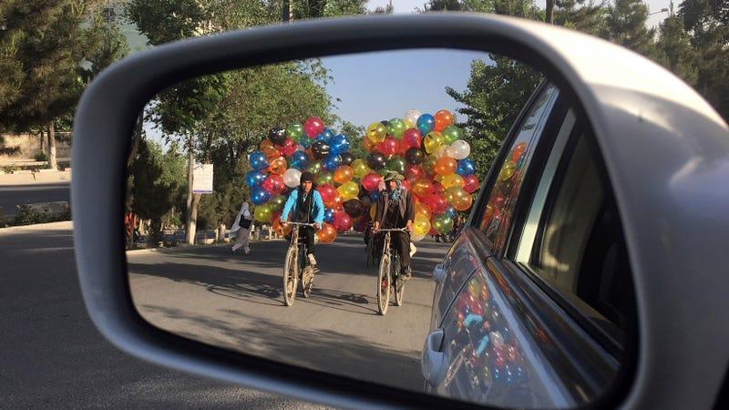Bike Hits Car