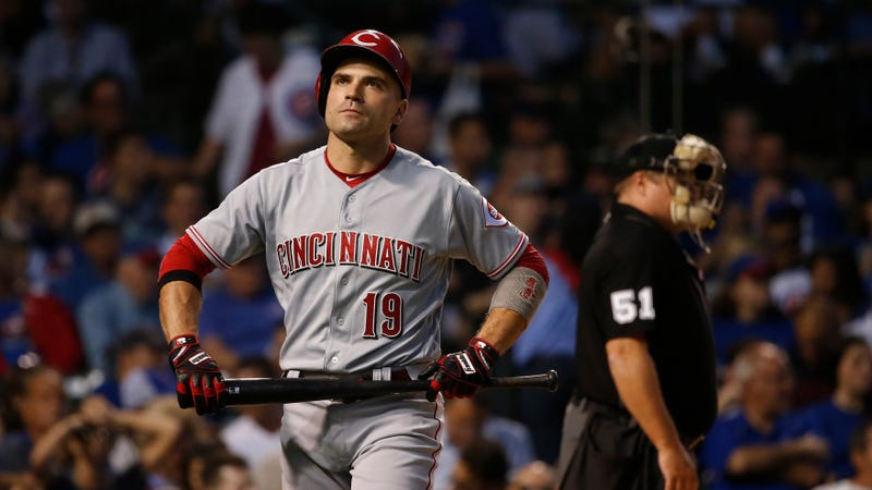 Cubs shuffle outfielders in attempt to stop Reds slugger Joey Votto