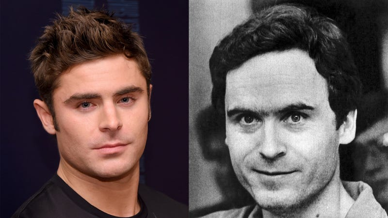 Efron (L) and Bundy (R). (Photos: Michael Loccisano/Bettman/Getty Images)